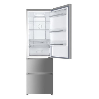 Haier A3FE635CGJE Frost Free Fridge Freezer in Silver 1 9m A Rated