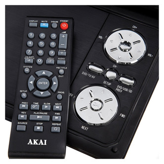 Akai A51004N 7 LCD Portable DVD Player with DVB T TV Tuner