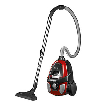AEG AE9910UKEL AeroPerformer Bagless Cylinder Vacuum Cleaner in Red