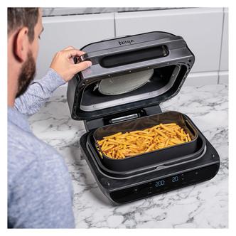 Image of Ninja AG551UK Foodi Max Health Grill Air Fryer