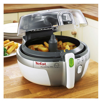 Tefal AH900240 Family ACTIFRY Low Fat Electric Fryer in White