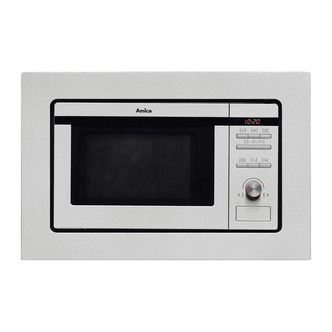 Compare retail prices of Amica AMM20BI Built In Microwave Oven with Grill in St Steel 20L 800W to get the best deal online