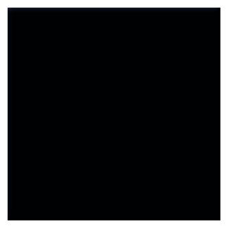 CDA ASG9BL 90cm Glass Splashback in Black