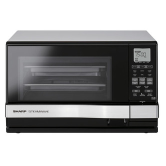 Sharp AX1110SLM True Steam Microwave Oven with Grill in Silver 900W