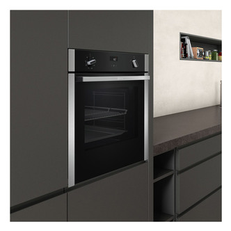 Image of Neff B4ACF1AN0B Built In Single Oven CircoTherm S H Black St St