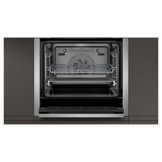 Image of Neff B4ACM5HH0B Built In Single S H Oven in Black Steel 71L