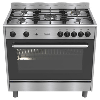 Baumatic BC190 2TCSS 90cm Gas Cooker in Stainless Steel FSD Single Cav