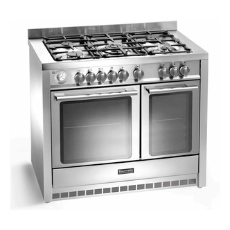 Baumatic BCD1025SS 100cm Twin Cavity Dual Fuel Range Cooker in St Stee