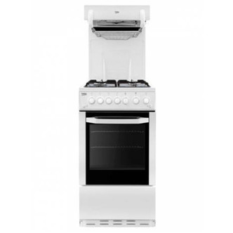 Beko BCEG501W 50cm Eye Level Grill Gas Cooker in White