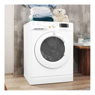 Image of Indesit BDE1071682XW INNEX Washer Dryer in White 1600rpm 10kg 7kg A Ra
