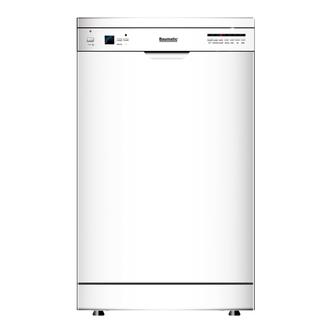 Baumatic BDF465W 45cm Slimline Dishwasher in White AAA Rated