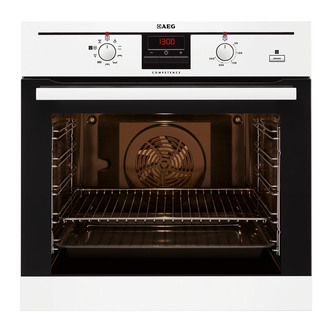 AEG BE300362KW Built In Multifunction Electric Single Oven in White