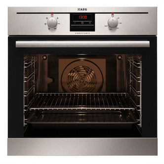 Image of AEG BE330302KM Built In Multifunction Electric Single Oven in St Steel
