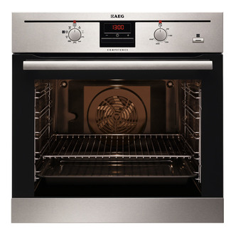 AEG BE330362KM Built In Multifunction Electric Single Oven in St Steel