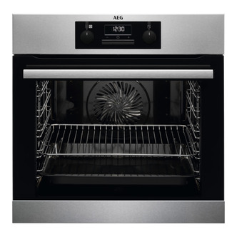 Image of AEG BES25101LM Built In SteamBake Electric Single Oven in St Steel