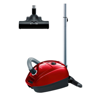 Bosch BGL3PETGB Bagged Pets Cylinder Vacuum Cleaner Red