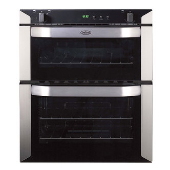 Belling 444449597 Built Under Gas Oven in Stainless Steel 70cm