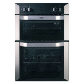 Belling BI90MF STA 60cm Built In Electric Double Oven in Stainless Ste