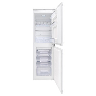Compare retail prices of Amica BK2963FA 55cm Integrated Frost Free Fridge Freezer 1 7m 50 50 A to get the best deal online