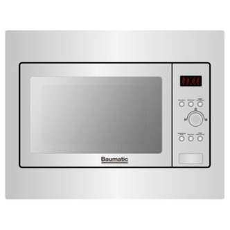 Baumatic BMIC4625M Built In Combination Microwave Oven in St Steel 25L