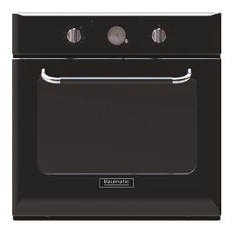 Baumatic BOR610BL 60cm Rustic Multifunction Electric Fan Oven in Black