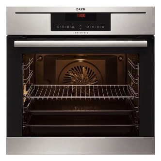 Cheapest price of AEG BP730402KM Built In Single Electric Multifunction Oven in St Steel in new is £749.90
