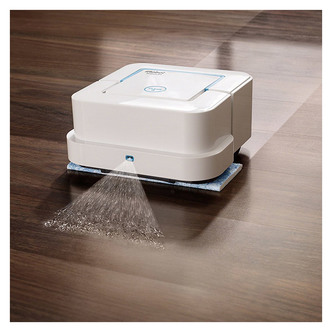 iRobot BRAAVA 240 BRAAVA Jet Floor Mopping Robot Cleaner in White