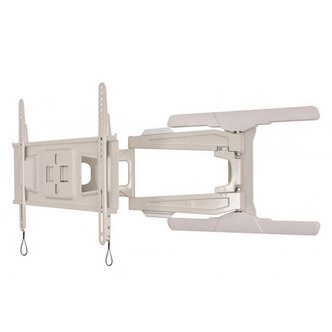 B Tech BT8221 W Tilt Swivel Flat Screen TV Bracket up to 65 Twin Arm