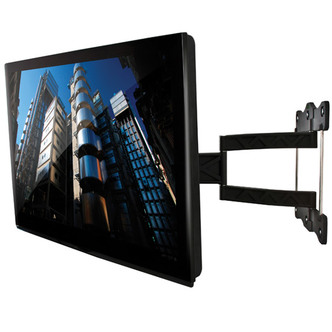 B Tech BTV514 Tilt Swivel Flat Screen TV Bracket up to 52 Twin Arm