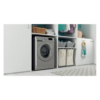 Indesit BWE91484XSUK Washing Machine in Silver 1400rpm 9Kg C Rated