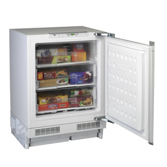 Beko BZ31 60cm Built Under Integrated Freezer in White A Rated