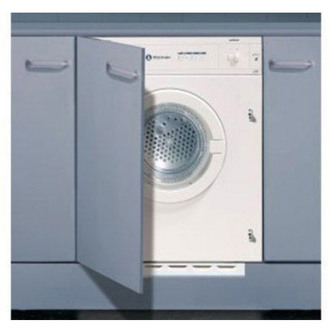 White Knight C43AW 6kg Fully Integrated Vented Tumble Dryer in White