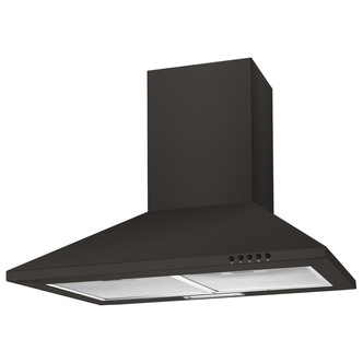 Image of Candy CCE60NN 60cm Chimney Hood in Black 3 Speed Fan