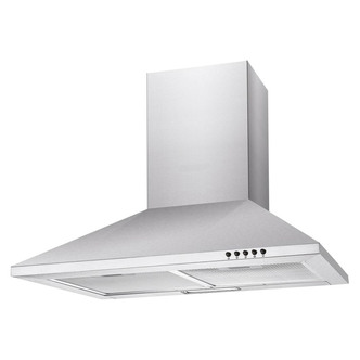 Image of Candy CCE60NX 60cm Chimney Hood in Stainless Steel 3 Speed Fan