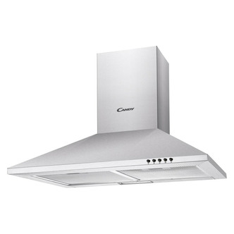 Image of Candy CCE70NX 70cm Chimney Hood in Stainless Steel 3 Speed Fan