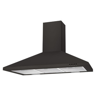 Image of Candy CCE90NN 90cm Chimney Hood in Black 3 Speed Fan