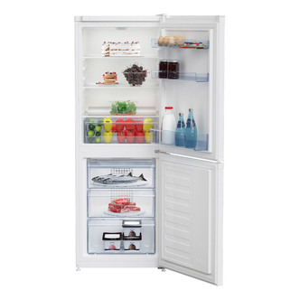 Beko CCFM1552W Frost Free Fridge Freezer in White 1 52m 55cm 145 68L
