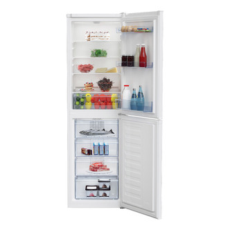 Beko CCFM1582W Frost Free Fridge Freezer in White 1 82m 55cm 170 97L