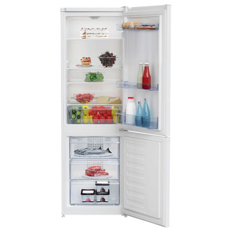 Beko CCFM3571W Frost Free Fridge Freezer in White 1 7m 54cm F Rated
