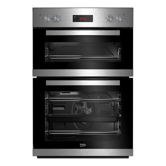 Image of Beko CDF22309X Built In Electric Double Oven in St Steel A Rated