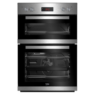 Image of Beko CDFY22309X Built In Electric Double Oven in St Steel A Rated