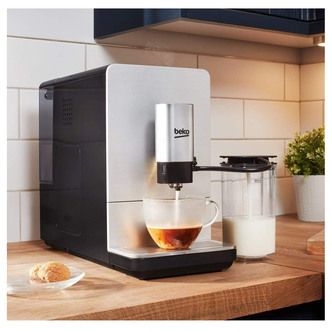 Beko CEG5331X Bean to Cup Coffee Machine with Milk Frother