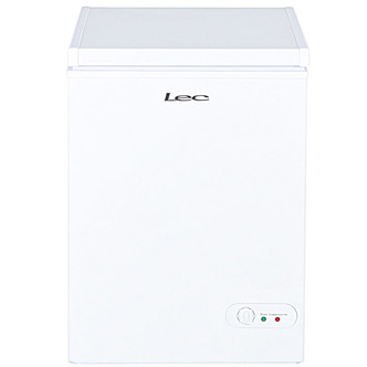 LEC CF100LW Chest Freezer in White 100L A Rated 3yr Gtee
