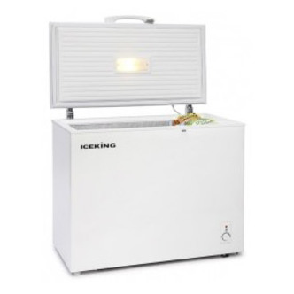 Iceking CF145W Chest Freezer in White 146 Litre A Rated