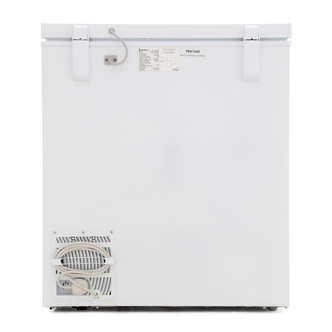 LEC CF150LW 150 Litre Chest Freezer - White