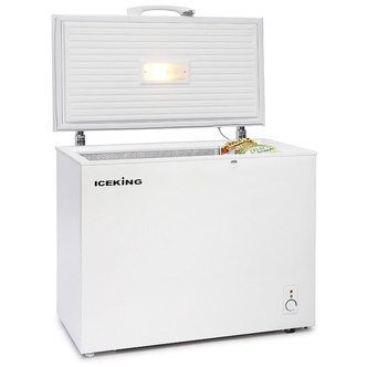 Iceking CF200W Chest Freezer in White 200 Litre A Rated