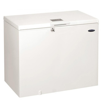 Iceking CF312W 118cm Chest Freezer in White 312 Litre 0 92m F Rated