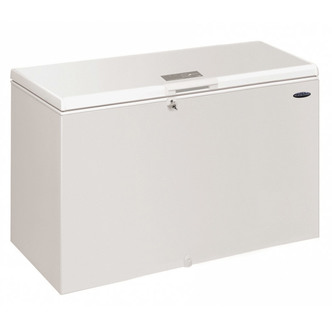 Iceking CF390W 141cm Chest Freezer in White 390 Litre 0 92m F Rated
