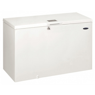 Iceking CF432W 141cm Chest Freezer in White 432 Litre 0 92m F Rated