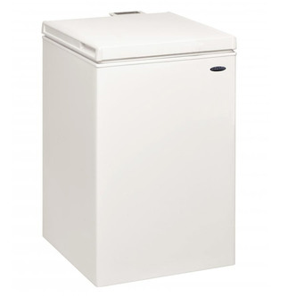 Iceking CF97W 53cm Chest Freezer in White 97 Litre 0 86m F Rated